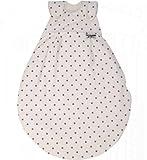 Alvi 42375 924-9 Baby Mäxchen Außensack Gr. 74/80cm Dots weiß