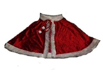 High Quality Deluxe Santa Mrs Clause Christmas Cape Costume Baby ...