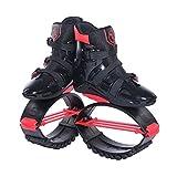 YxnGu Unisex Fitness Jump Schuhe Bounce Schuhe - Anti-Schwerkraft-Laufstiefel für Erwachsene, Jugendliche & Kinder für Fitness, Laufen, Basketball (Farbe : Rot, größe : XL)