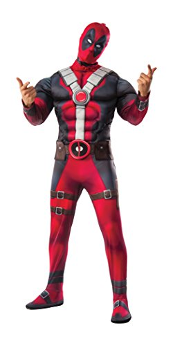 xe Costume Adult X-Small (Deadpool-kostüm)