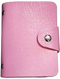 Femme Lady en cuir verni portefeuille carte de crédit support pour bac à pochettes