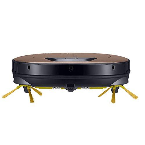 LG Electronics VRD 830 MGPCM Total Care Roboter-Staubsauger (Raumerkennung durch Dual-Kamera System, 4 Reinigungsmodi, inkl. Wischmopp und Teppich- und Tierhaarbürste) metal gold - 2