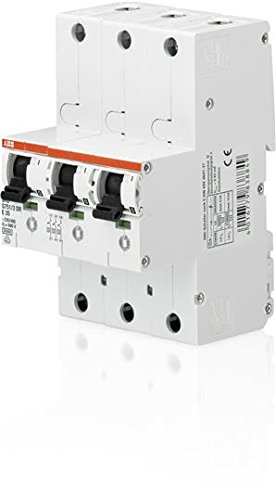 ABB S751/3dr-e50cb-Type 3P Circuit Breaker-Circuit Breakers (230-400, 50A, 27mm, 92mm, 130mm, 1.05kg) (50 Amp Circuit Breaker)