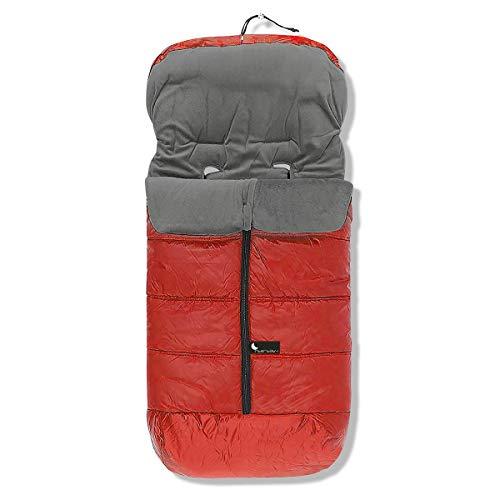 Interbaby 10024-07 - Saco de abrigo universal, Granate/Rojo