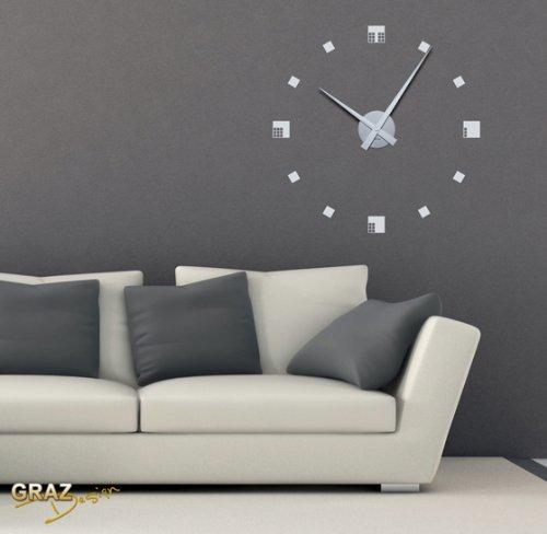Reloj de pared vinilo tu quieres - Reloj pegado pared ...