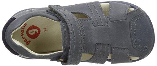 Garvalin 152325-A, Sandales Garçon Bleu (Jeans (Galera)