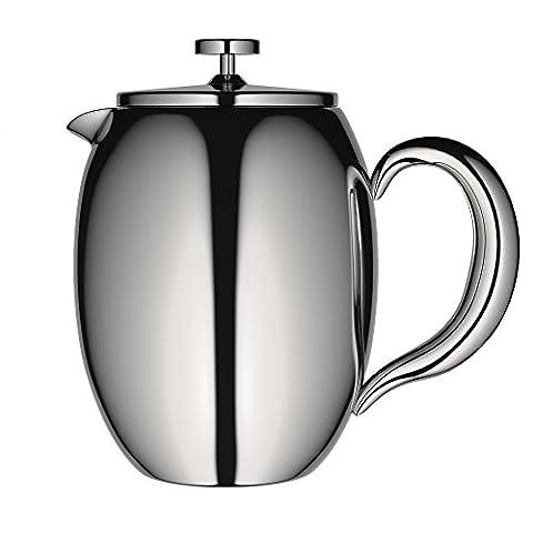 VeoHome - Cafetière à Piston - Incassable et garde le café chaud longtemps grâce à sa double coque (Moyen (0.75Litre))