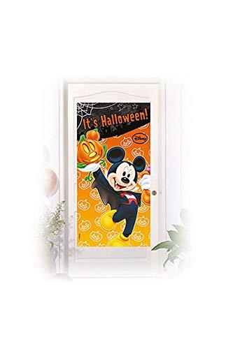 Disney Micky Maus Halloween Tür Poster, 152 x 68,5 cm