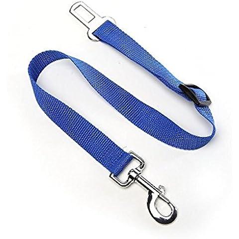 Gleading Correa cinturón de Seguridad Coche para Perros mascotas