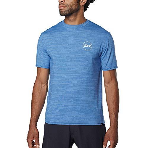 DAKINE Mens Roots Loose Fit Short Sleeve Surf Hemd Scout Heather - Schnell Dry - Split Peak - Series- verwenden in den oder aus dem -