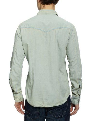 Seidensticker Herren Freizeithemd Slim Fit 425110 Blau (Jeansblau (11))
