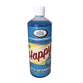 Happy Hot Tubs Spa Sparkle Clarifier 1 Litre Spas Tub CLEAR WATER FLOC