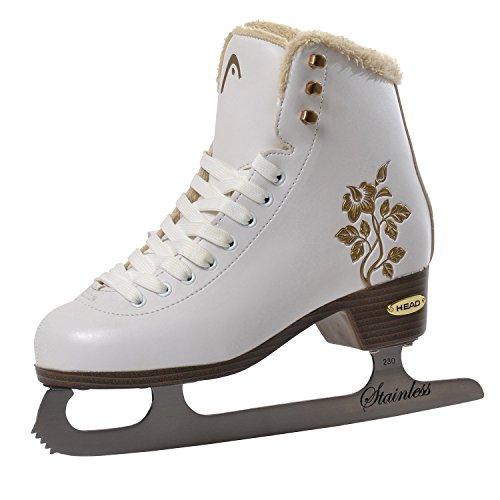 Head, Pattini da pattinaggio artistico su ghiaccio Donna Opal Figure Skate, Bianco (Weiß), 40