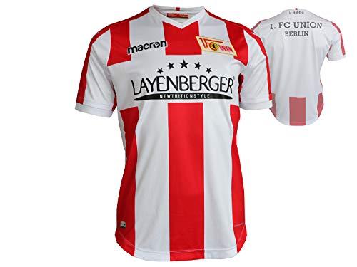 macron Herren Fußballtrikot rot XXL -