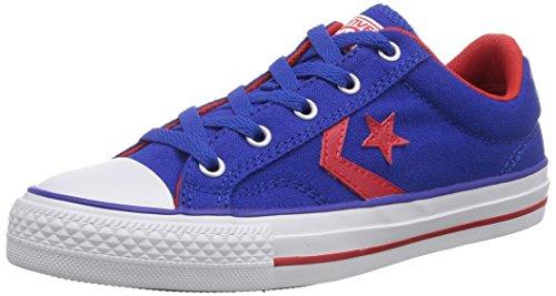 Converse - Star Player Ox, Sneaker Unisex – Adulto Blu (Bleu (Bleu/Rouge))