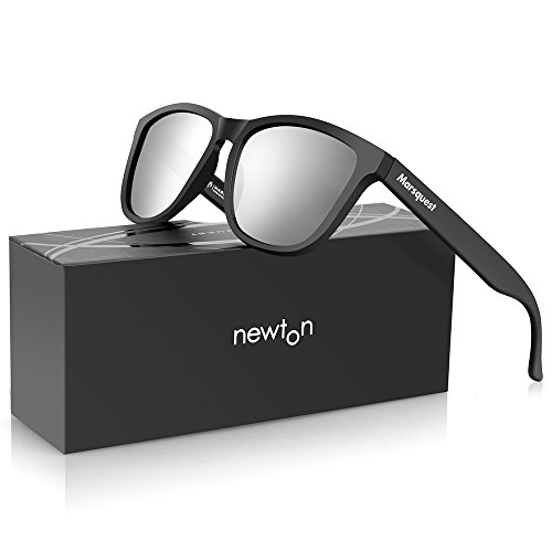 4939caa5e01bc6 Mens Polarized Sunglasses - Newton Chic Memory Material Lightweight    Durable.