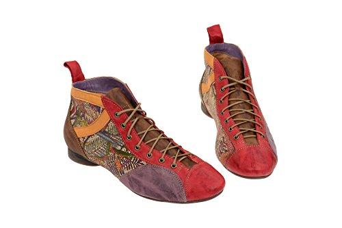 Think! Damen Guad Desert Boots CHILLI/KOMBI