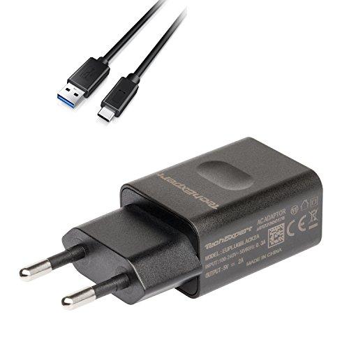 Kit de Charge pour tablettes ASUS avec Port USB C Zenpad 3S 10 Z500M Zenpad Z301 Z301M Z301ML Noir