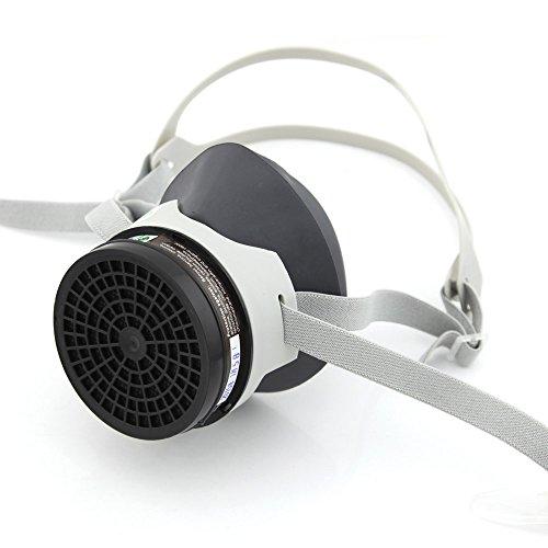 Owfeel (TM) Silicone Zan Masque respiratoire gaz avec sangle réglable