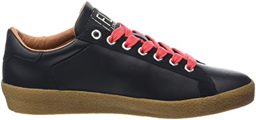 Fly London Berg823fly, Sneaker Donna Nero (Black/blackred Laces)