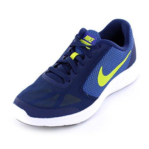 Schuhe Nike Jungen Leder (Nike Revolution 3 (GS) 819413 405 Jungen Schnürhalbschuh)