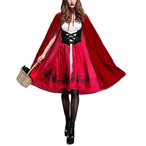 Jasmine7 Halloween Rotkäppchen Kostüm Weihnachtsfeier Cosplay Kostüm für - Tanz Lösungen Kostüm