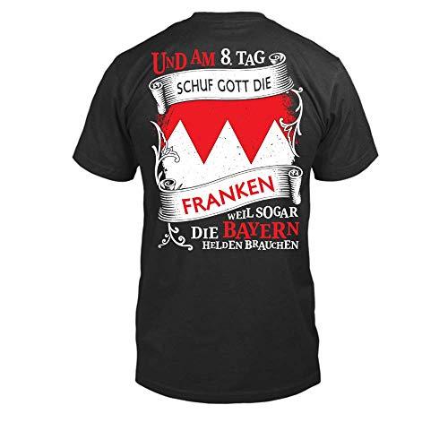 8. Tag Schuf Gott Den T-shirts (Und Am 8.Tag Schuf Gott Die Franken Männer T-Shirt)