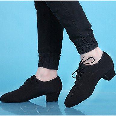 Chaussures De Danse - Non Personnalisables - Hommes - Danses Latino-américaines - Low - Rope - Black Black