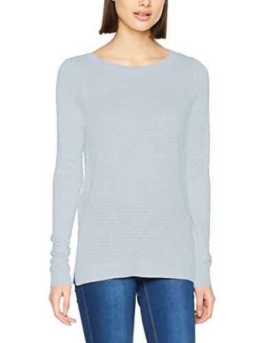 VILA CLOTHES Damen Pullover Visarafina Knit Top-Noos, Blau (Plein Air), 36 (Herstellergröße: S)