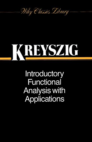 Introductory Functional Analysis with Applications (Wiley Classics Library) por Erwin Kreyszig