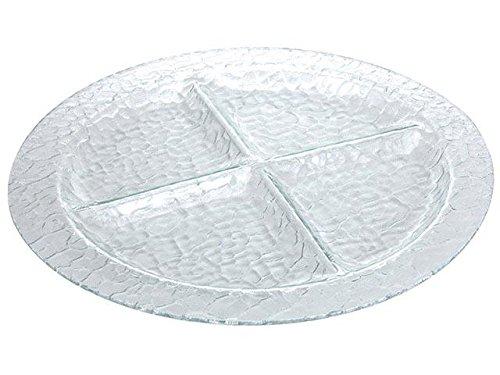 Mazali Ko Serv DZ6000020 Serving Plate, Glas, mehrfarbig