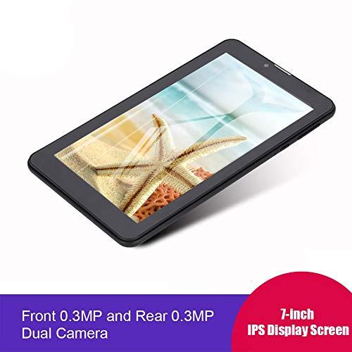 "Tablet PC Bluetooth, 7""HD Mini Tablet PC compacta 512MB RAM 4G ROM Quad-Core Bluetooth WiFi para Android 4.4 Enchufe de la UE, Excelente navegación, WiFi Incorporado y Bluetooth"