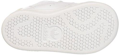 new style 4f4f2 44cb2 adidas Stan Smith, Ballerine Unisex – Bimbi 0-24, Bianco (Ftwr White Gold  Metallic), 26 EU