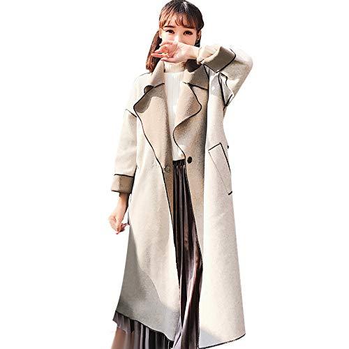 VEMOW Herbst Winter Elegante Damen Cashmere-Like Dicker Jacke Outwear Parka Cardigan Casual...