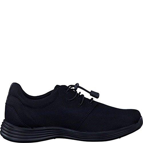 Tamaris  1-1-23707-28-007, Chaussures de ville à lacets pour femme Noir