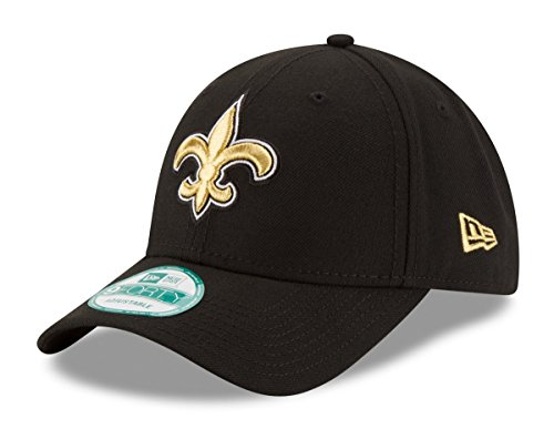 "New Orleans Saints New Era 9Forty NFL ""The League Black"" Adjustable Hat Hut"