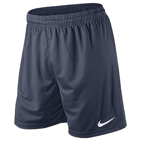 Nike Herren Shorts ohne Innenslip Park Knit NB, marine/weiß, L,