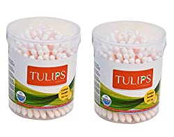 Tulips Cotton Buds 100s Pack of 2