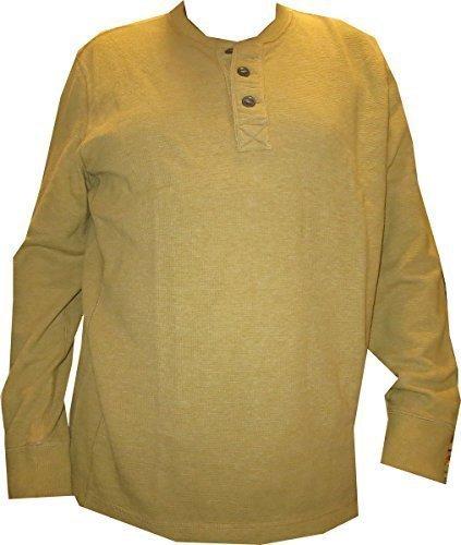 Shirt Langarmshirt für den Herren von Eddie Bauer Gelb
