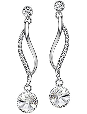 Neoglory Jewellery mit Swarovski® Elements Ohrringe hängend