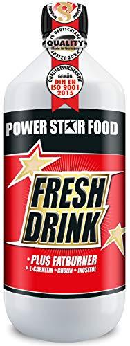 FRESH DRINK - erfrischendes kalorienreduziertes ELEKTROLYT KONZENTRAT - Hypotonic-Vitamin-Erfrischungsgetränk für Ausdauer- und Kraftsport - Flasche 1000 ml Konzentrat - MADE IN GERMANY (Sauerkirsch)