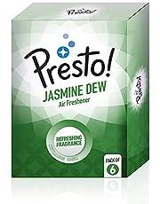 Presto! Air Freshener Pocket, Jasmine Dew - 10 g (Pack of 6)