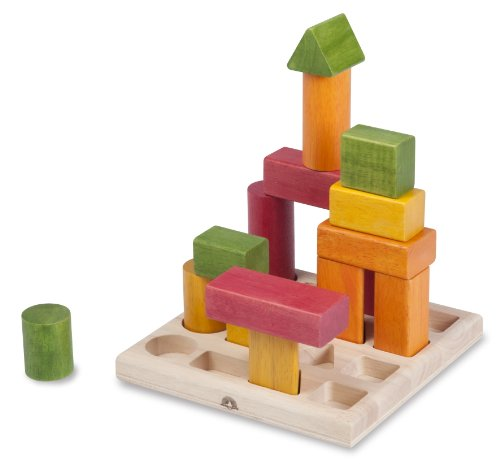 Andreu Toys Andreu ToysWED-3121 Wonder World Natural Shape Sequence Toy, 19.5 x 19.5 x 8 cm