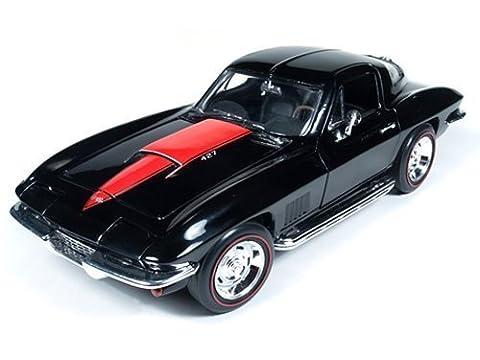 1967 Chevrolet Corvette Sting Ray L88 427 Tuxedo Black 1/18 by Autoworld AMM1004 by Autoworld