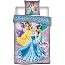 Twenty feet Disney Funda de edredón – Juego de Ropa de Cama Princesa 140 x 200