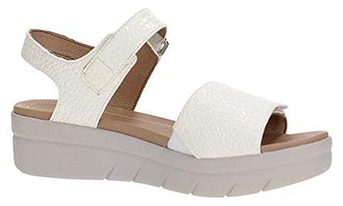 Stonefly 108230 Sandale Femme Bianco
