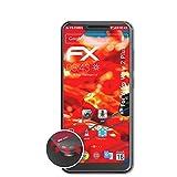 atFolix Schutzfolie passend für Wiko View 2 Plus Folie, entspiegelnde & Flexible FX Bildschirmschutzfolie (3X)