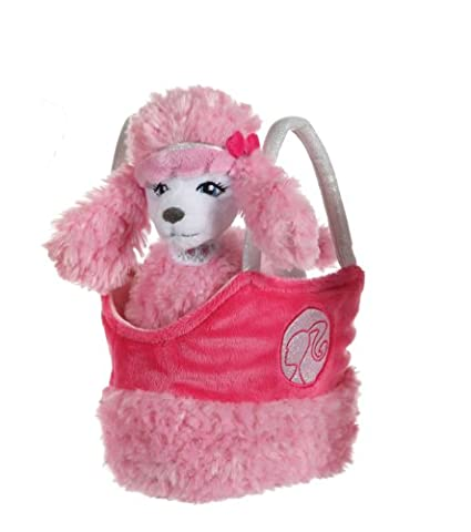 Gipsy - 070243 - Peluche - Barbie Pet Beans In Bag 22 Cm Caniche Sequin
