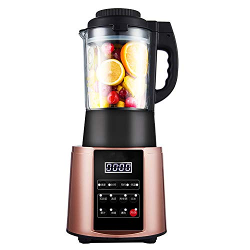 HBBenz Batidora, Batidora Smoothie con función de calefacción 32,000 RPM 1.75L Frasco de Vidrio y Pantalla LED, Batidoras eléctricas para Frutas y Vegetales