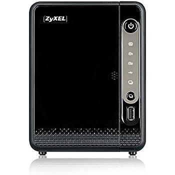 Zyxel Privater Cloud Speicher / Storage [2-Bay NAS] für zuhause - 1,3GHz Prozessor (JBOD, RAID 1)[NAS326]